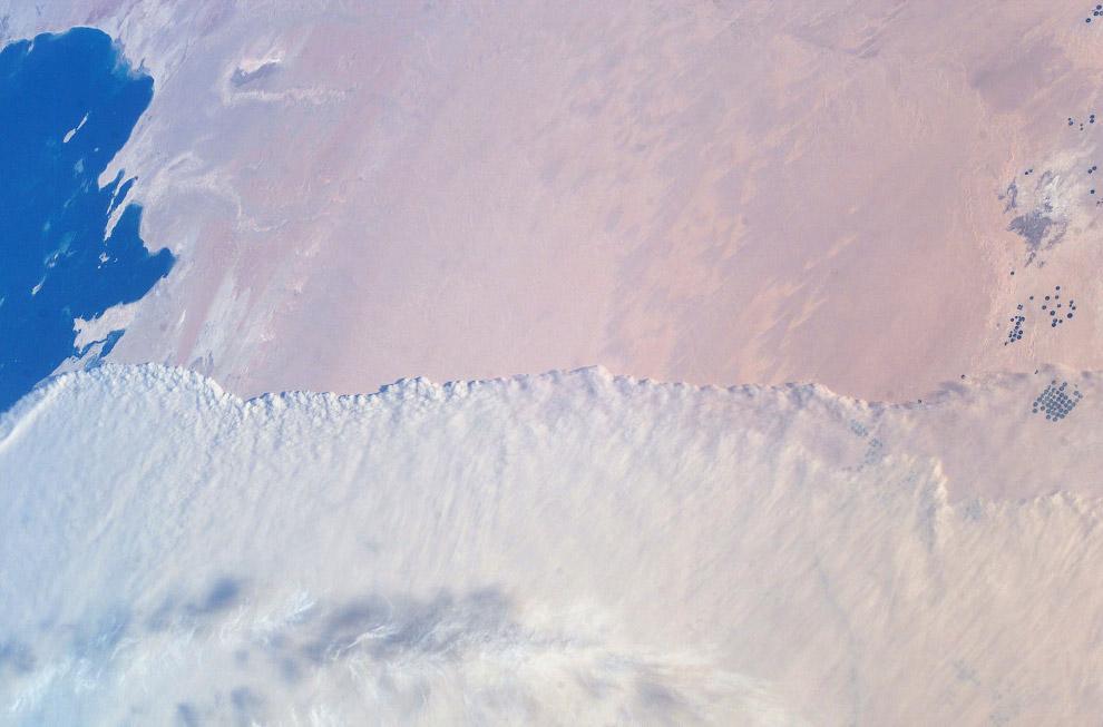 Песчаная буря в Персидском заливе
