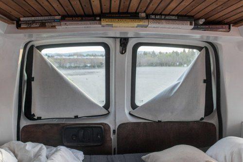 Переделка старого фургона