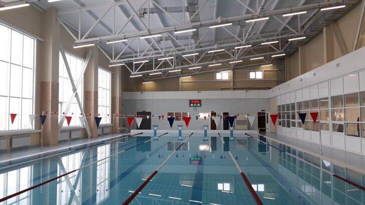 В Башкирии открылся новый спортивный комплекс с бассейном Хорошие, добрые, новости, россия, фоторепортаж