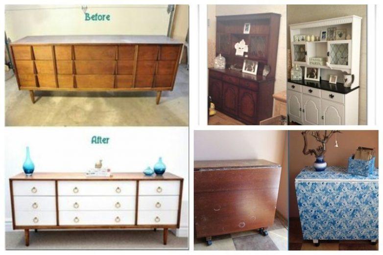 Реанимация старой мебели