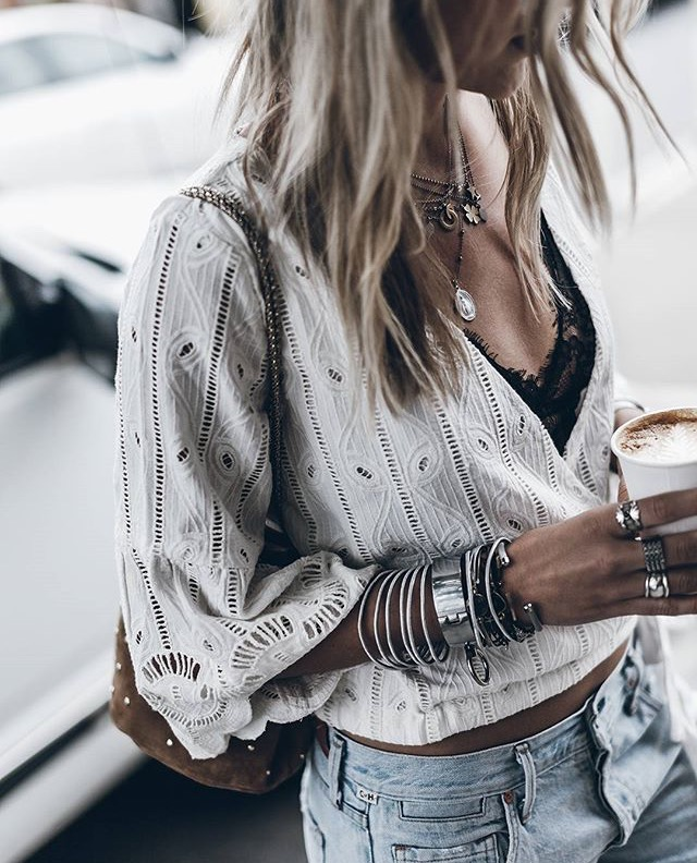 Летняя нежность: топы, блузы и рубашки