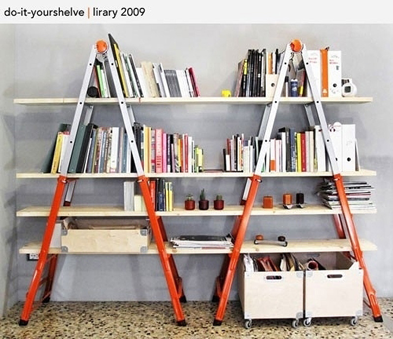 bookshelves 4 25 идей, как сделать книжную полку
