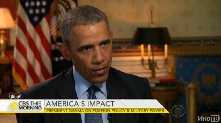 CBS: Обама предпочел военной мощи США звонок Путину