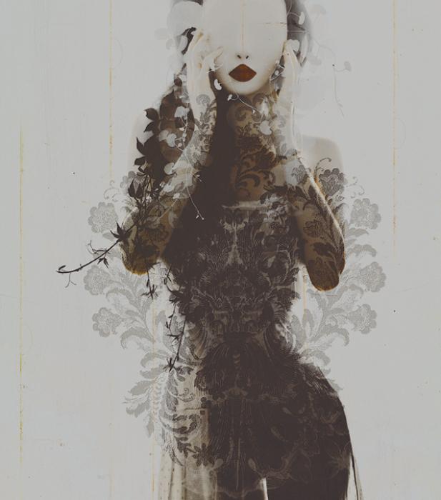 Цветочные мотивы. Автор работ: фото-иллюстратор Лесли Энн О'Делл (Leslie Ann O'Dell).