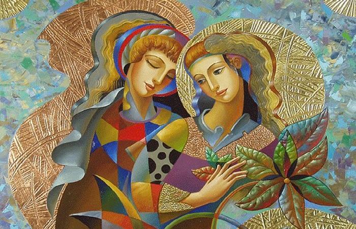 Художник, который пишет любовь радужными красками и сусальным золотом: Олег Живетин