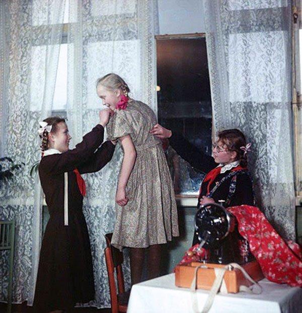 Кружок кройки и шитья СССР, детство, кружки