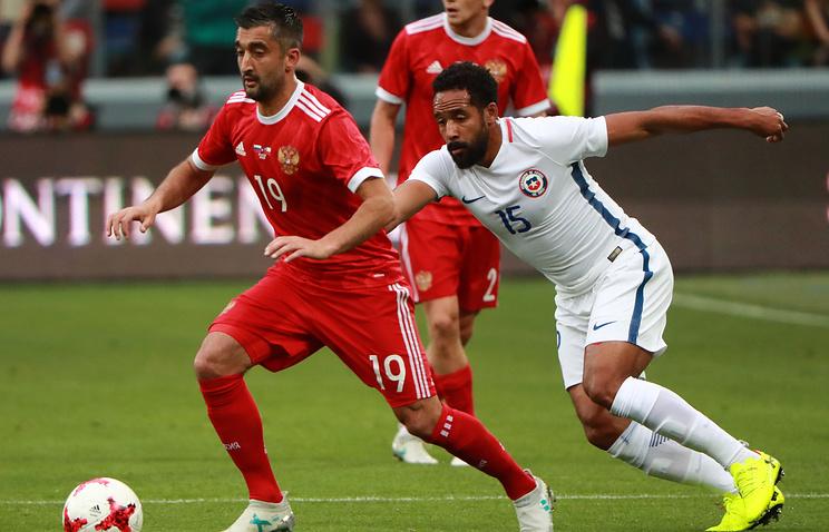 Жуков: сборная России в матче с чилийцами показала, что прибавляет с каждой игрой
