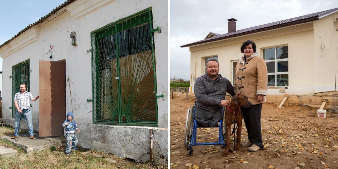 Слава смог. Минчанин выкупил деревенский магазин и переделал его в жилой дом