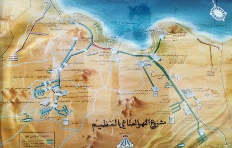 «Восьмое чудо света» – великая рукотворная река в Ливии