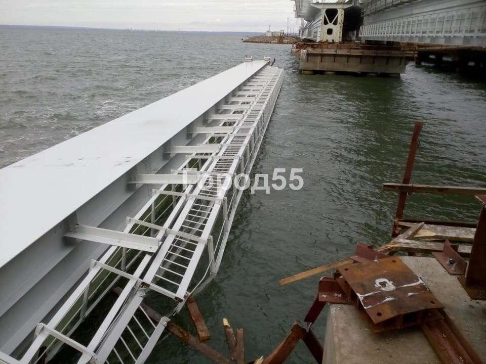 ЧП на Крымском мосту