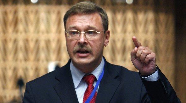 Константин Косачев. Фото с сайта: Nrt24.ru