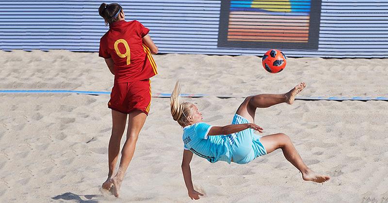 Не вышло на ЧМ-2018, получилось на пляже: женская сборная России впервые выиграла Кубок Европы по пляжному футболу