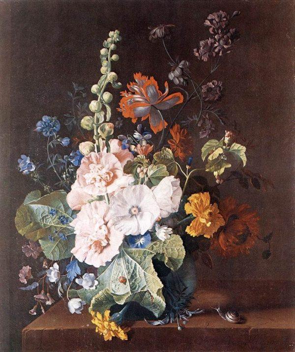 художник Ян ван Хёйсум (Jan Van Huysum) картины - 04