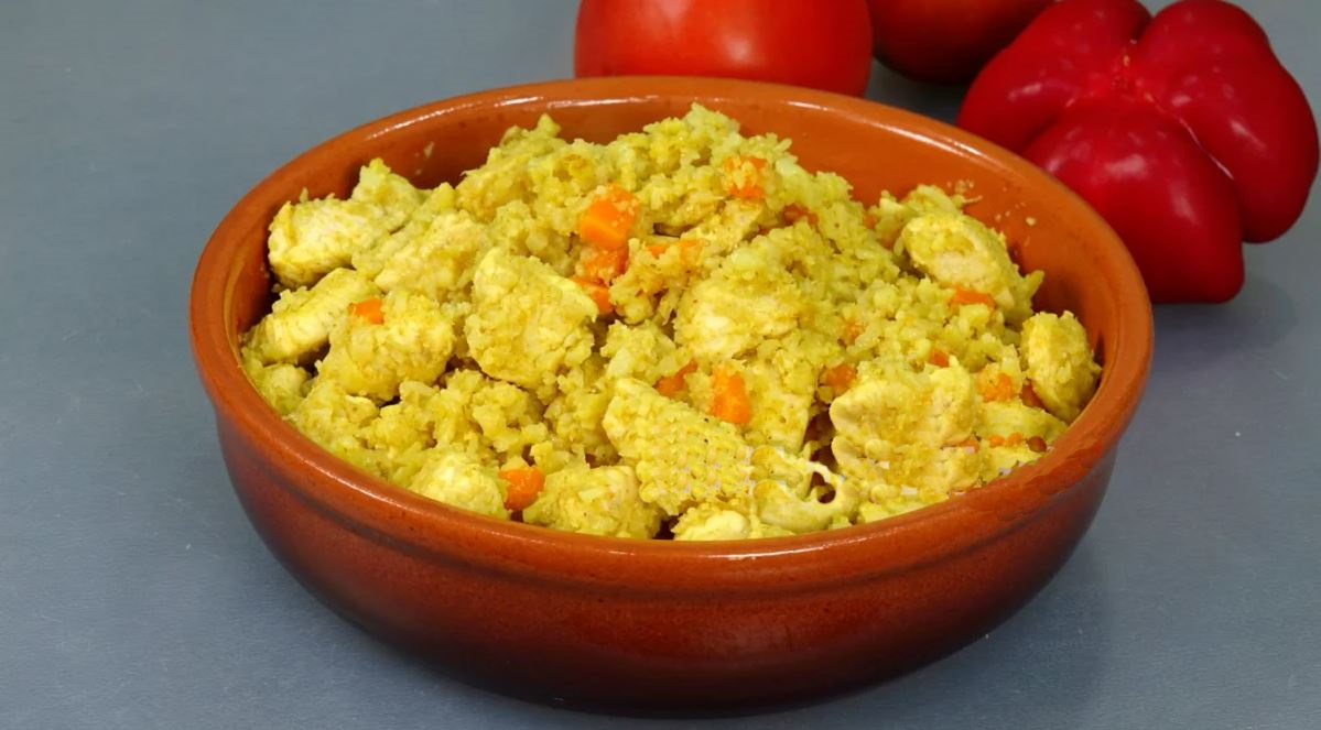 «Плов» из цветной капусты. Неожиданно вкусно