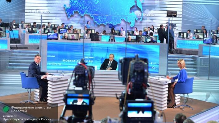 Самый смешной вопрос Путину на Прямой линии уже оброс анекдотами в соцсетях