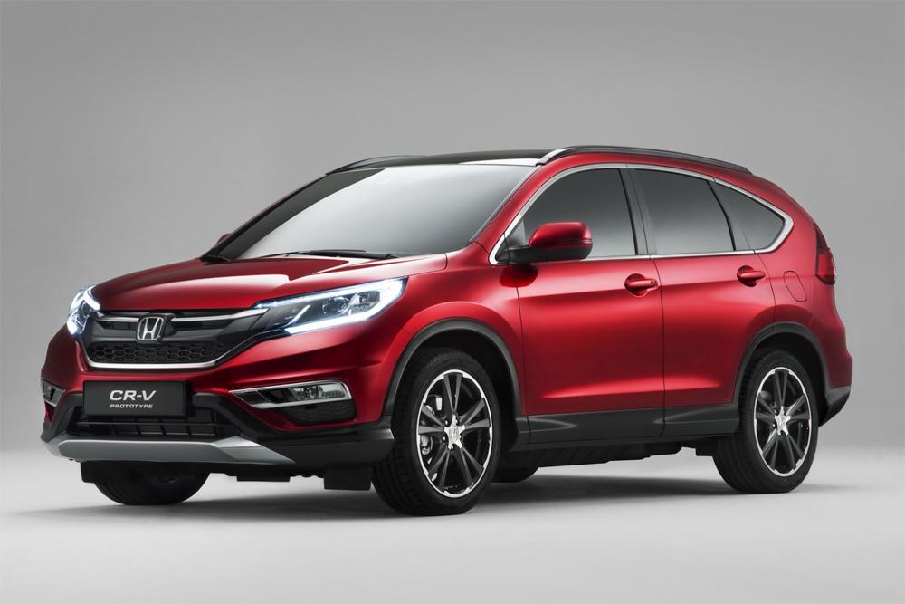Вышла европейская версия кроссовера Honda CR-V