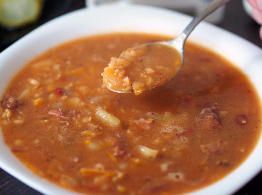 Гороховый суп с турецким секретом