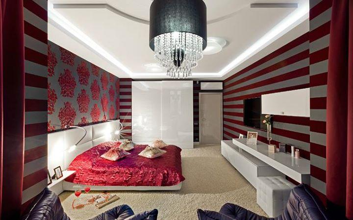 спальня в полоску горизонтальную можно носить пуховиками
