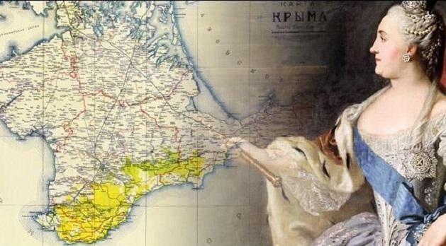 Как Крым присоединяли к России