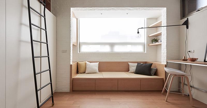 Как выжать максимум из минимума пространства: полнофункциональная квартира на Тайване площадью всего 22 квадратных метра