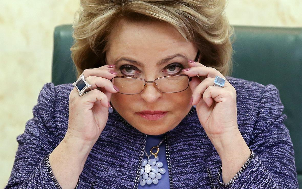 Матвиенко раскритиковала главу Рослесхоза Ивана Валентика.
