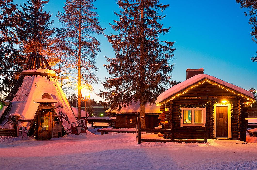 Волшебная Лапландия: родина Санта-Клауса