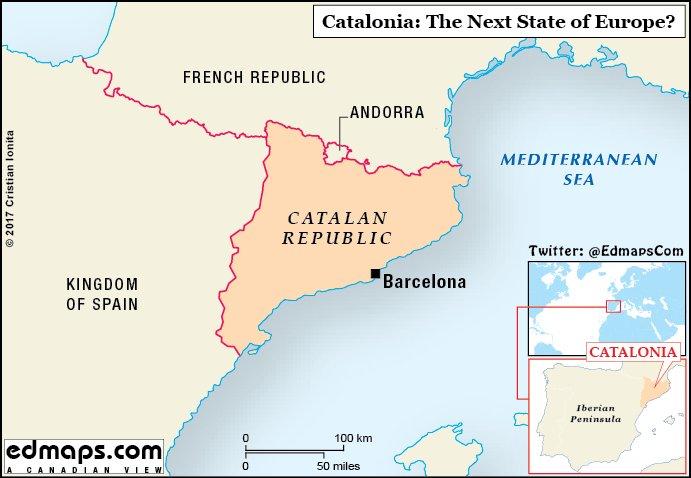 Спуск флагов Испании