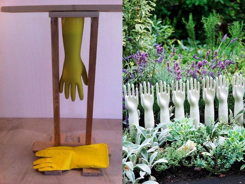 Сад больше не выглядит скучным - 15 идей бетонных ваз