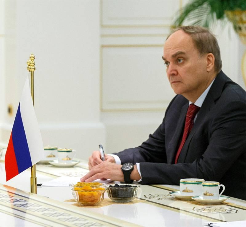 Анатолий Антонов, награждённый медалью За возвращение Крыма, назначен послом РФ в США