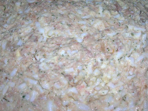 Сырные корзиночки с тунцовым салатом