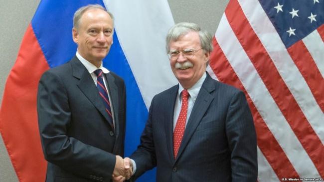 Болтон иПатрушев обсудят вМоскве ситуацию вСирии иКНДР