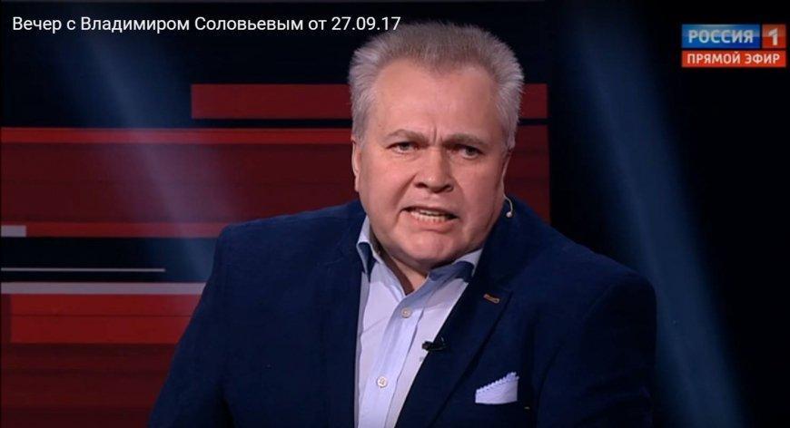 Михеев усмирил либерала Сытина за кулисами ТВ эфира Соловьева