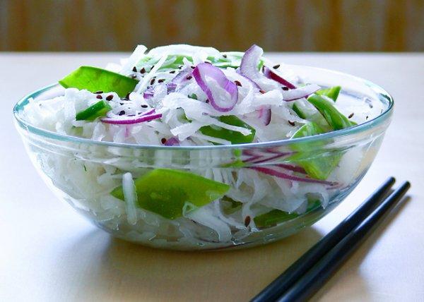 Редька с луком - салат