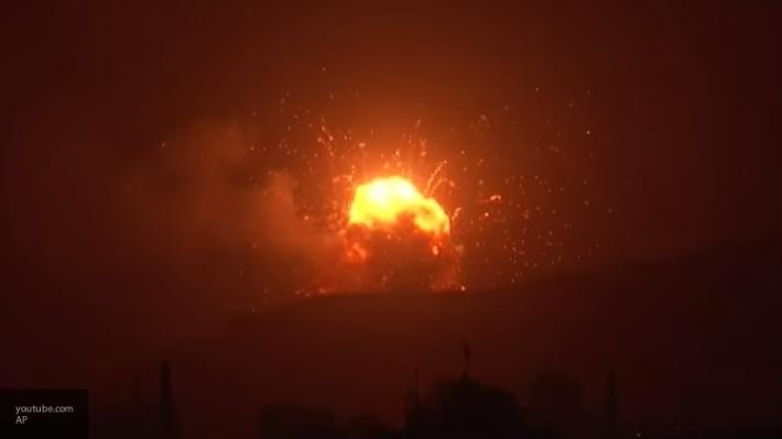 Собрание военных саудовской армии было обстреляно йеменскими ракетами «Землетрясение-1»