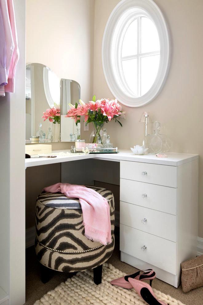Дамское счастье: как обустроить туалетный столик мечты.