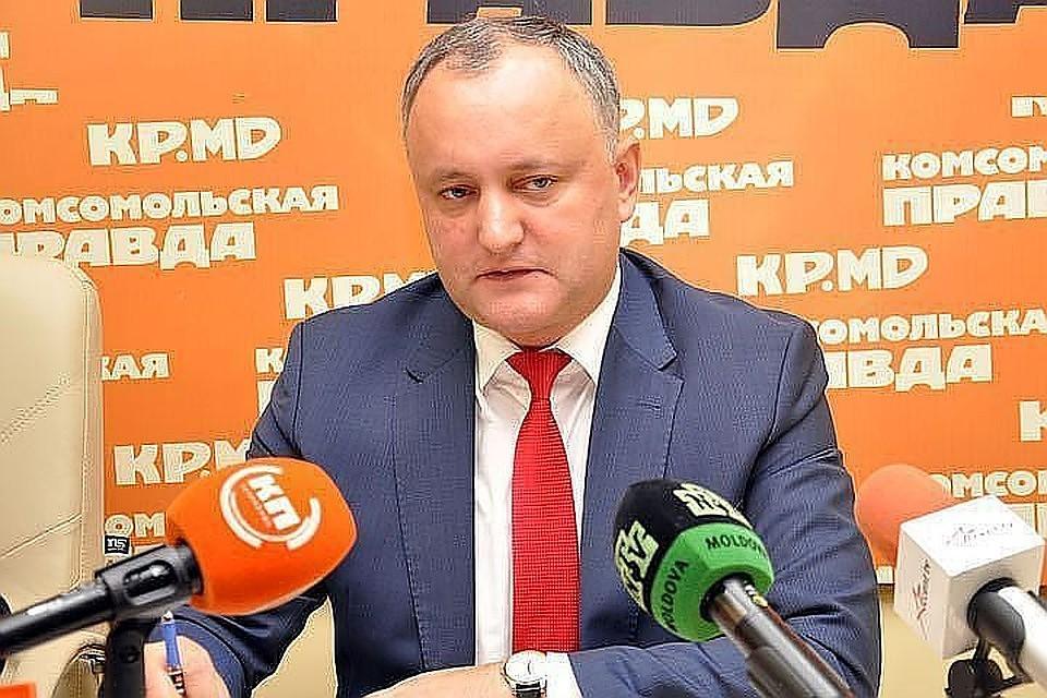 Игорь Додон попал в больницу после ДТП