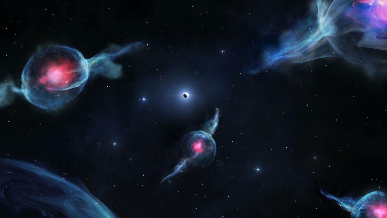 У черной дыры в центре Млечного Пути замечены странные спутники