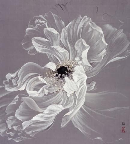 «Распускается он, будто радугу извергая…» Японская художница Hiromi Miura