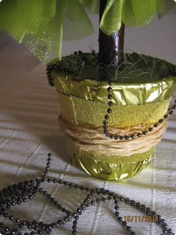 Мастер-класс, Свит-дизайн: МК елочки из конфет Новый год. Фото 30