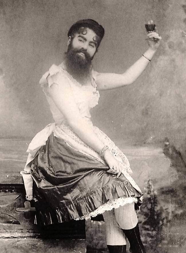 Энни Джонс. Бородатая женщина. интересное, прошлое, фото, цирк