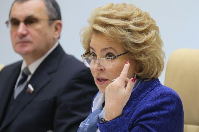 Матвиенко: Совфед приложит все усилия для освобождения Керимова