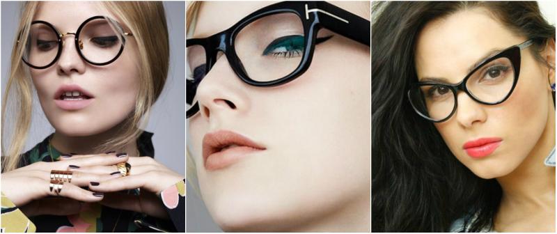 Как делать макияж под очки л…