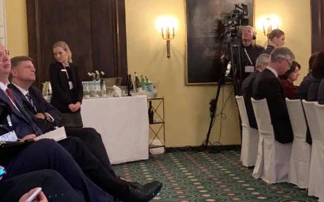 Захарову позабавило поведение Макфола во время речи Лаврова в Мюнхене
