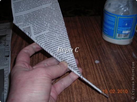Мастер-класс Плетение: Мастер класс плетения из газеты для новичков Бумага газетная Отдых. Фото 23