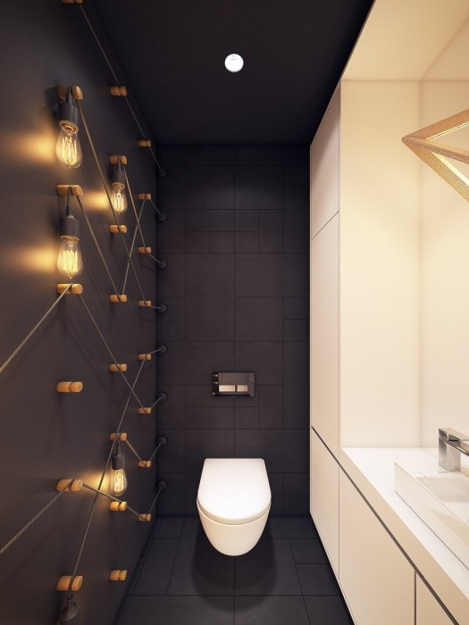 При любом оформлении качественное освещение поможет добиться нужного эффекта, создав комфортное пространство.