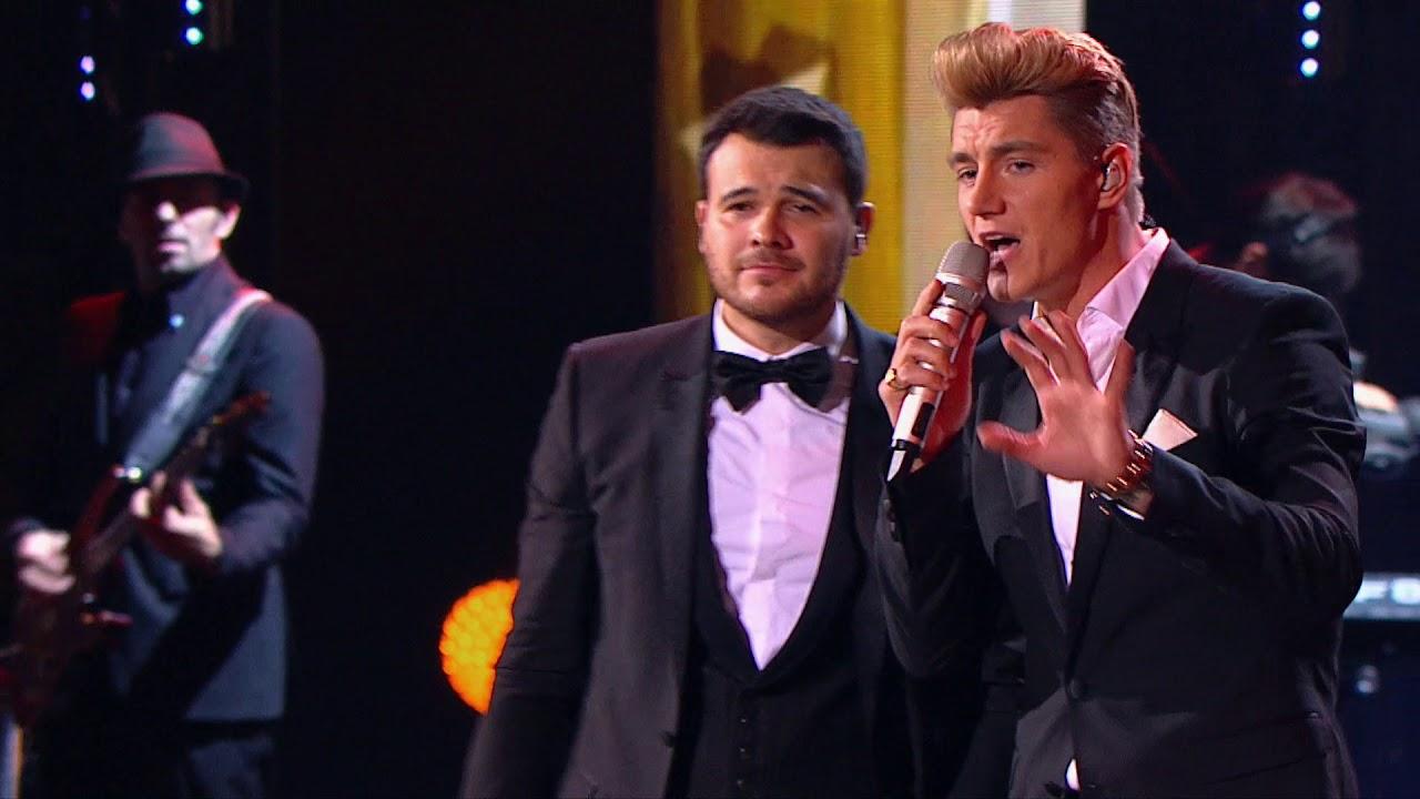 Песенный дуэт потрясающий! Алексей Воробьев и Эмин — «Я полюбил»