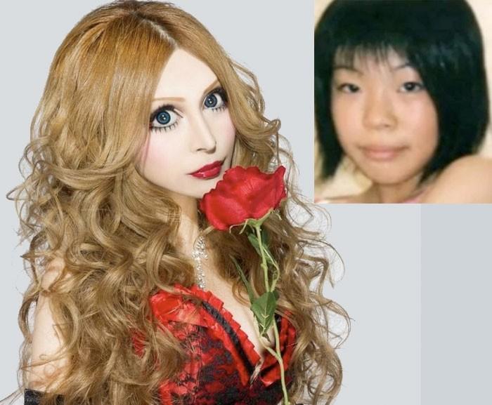 """Ванилла Чаму: из японки в """"фарфоровую"""" куклу красота, модификации, операции, пластика, пластическая хирургия, трансформации, фото, фрики"""