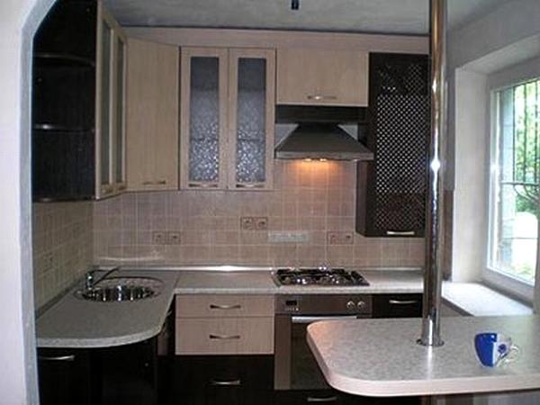маленькая кухня в хрущевке фото 12