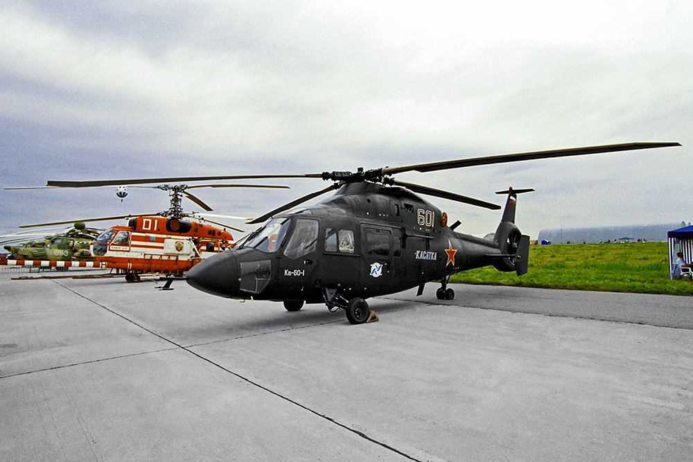 """Летучая """"Касатка"""". Вертолеты нового поколения - на подлете"""