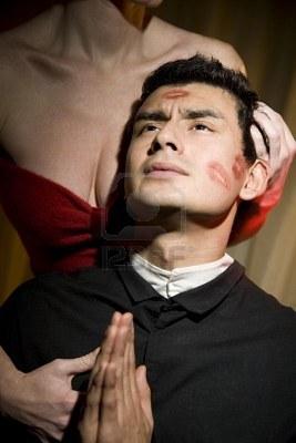 Басня Блудница и священник